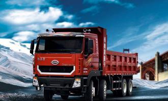 2014款格奥雷载货运输车(8×4驱动)