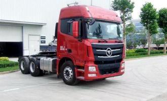 款欧曼GTL 430马力 6X4 牵引车(BJ4259SNFKB-XC)