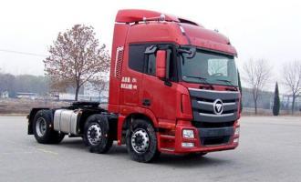 款欧曼GTL 380马力 6X2 牵引车(BJ4253SNFKB-XJ)