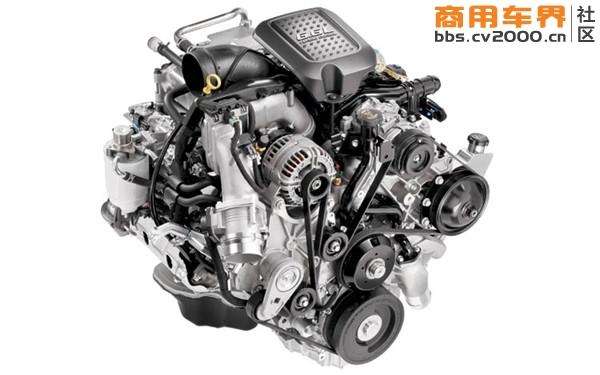 duramax涡轮增压柴油发动机