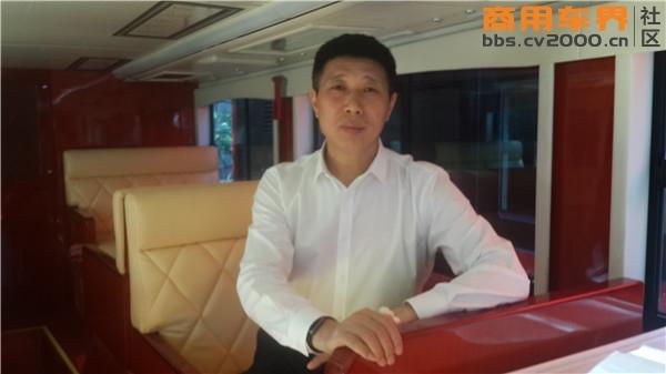 珠海银隆新能源有限公司副总裁刘兴
