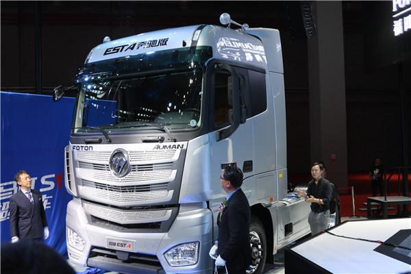 4国内超级卡车最强版本——福田欧曼EST-A奔驰版.JPG