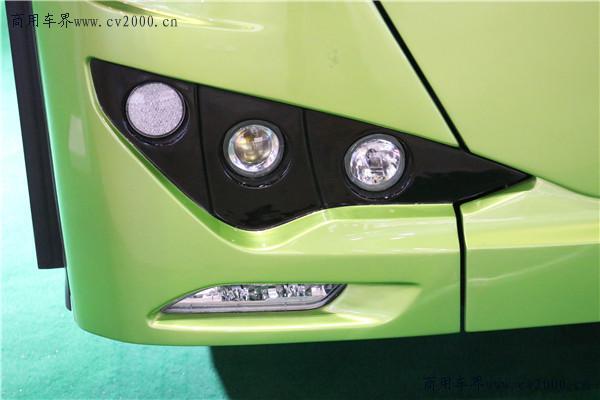 图解比亚迪2017款k9纯电动城市客车