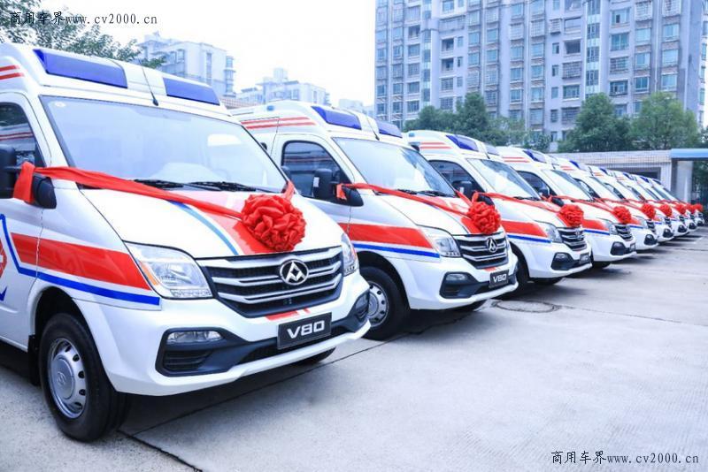 向湖南捐赠的这款爱心救护车,怎会有如此多亮点?