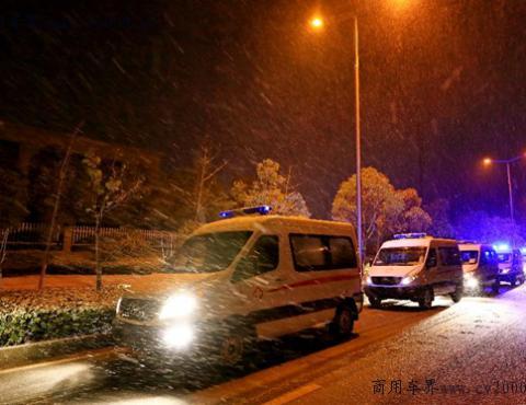与疫情赛跑,江淮商务车两批救护车订单批量下线驰援一线