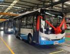 200辆新巴客纯电动城市客车成为江城宜宾一道宜人的风景